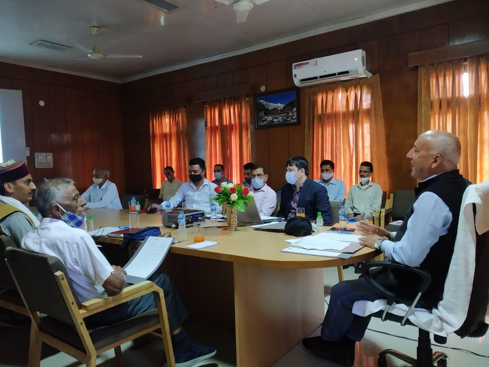 HP Ex-Servicemen Truck Operators Welfare Working Committee, Barmana - Meeting held on 25-09-2021